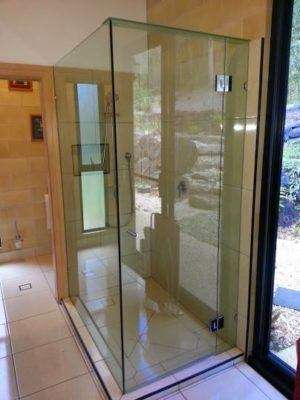 shower screen glass repair